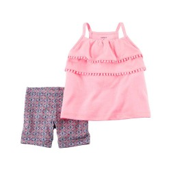 239G416 Blusa rosa sin...