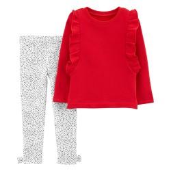 Sudadera roja pantalon...
