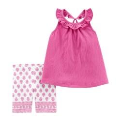 259G869 Blusa rosa short...