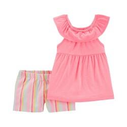 2H377610 Blusa rosa short...