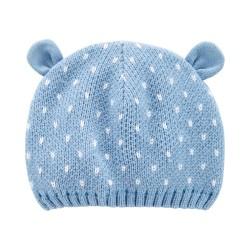 1J216910 Gorrito azul oso