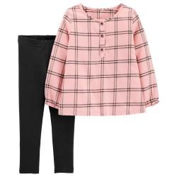 2J167410 Blusa franela rosa...