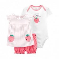 1K443410 Blusa rosa fresas...